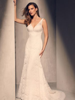 Mira Couture Mikaella 2217 Wedding Dress Bridal Gown Full
