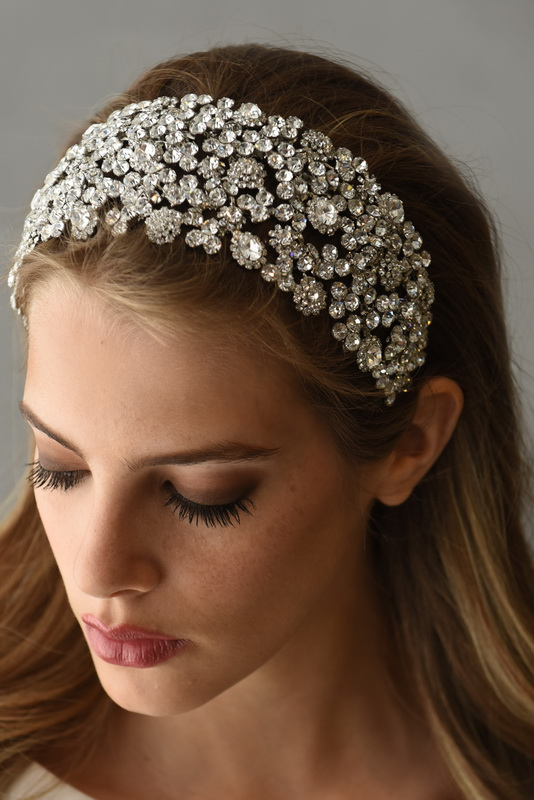 Mira Couture Erica Koesler Wedding Accessories Tiara Crown A-5413