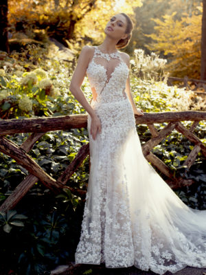 Mira Couture Ysa Makino 69032 Wedding Dress Bridal Gown Chicago Boutique