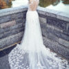 Mira Couture Ysa Makino 69032 Wedding Dress Bridal Gown Chicago Boutique Back