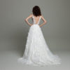 Mira Couture Daalarna Whisper 607A Wedding Dress Bridal Gown Chicago Boutique Back