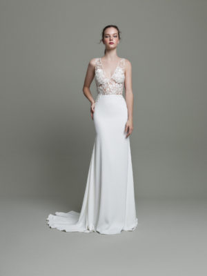 Mira Couture Daalarna Whisper 616 Wedding Dress Bridal Gown Chicago Boutique