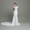 Mira Couture Daalarna Whisper 627 Wedding Dress Bridal Gown Chicago Boutique Front