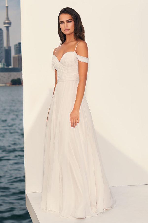 Mira Couture Paloma Blanca 4834 Wedding Dress Bridal Gown Chicago Boutique