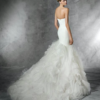 Mira Couture Pronovias Mildred Wedding Dress Bridal Gown Chicago Boutique Back
