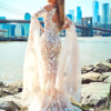 Mira Couture Stephen Yearick 14307 Wedding Dress Bridal Gown Chicago Boutique Back