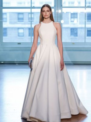 Mira Couture Justin Alexander Signature 99042 Wedding Dress Bridal Gown Chicago Boutique Front Runway