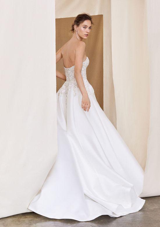 Mira Couture Justin Alexander Signature Aspen Wedding Dress Bridal Gown Back 2