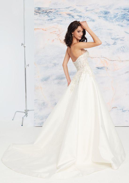 Mira Couture Justin Alexander Signature Aspen Wedding Dress Bridal Gown Back