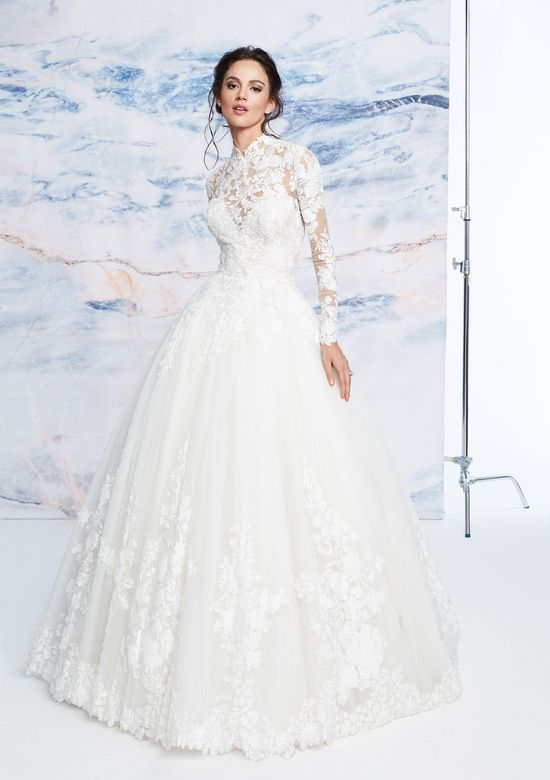 Mira Couture Justin Alexander Signature Cambridge Wedding Dress Bridal Gown Front