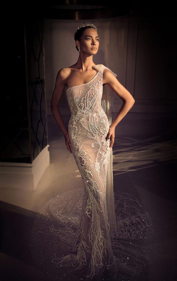 Mira Couture Elihav Sasson e083 Wedding Dress Bridal Gown Chicago Illinois Boutique Front (1)