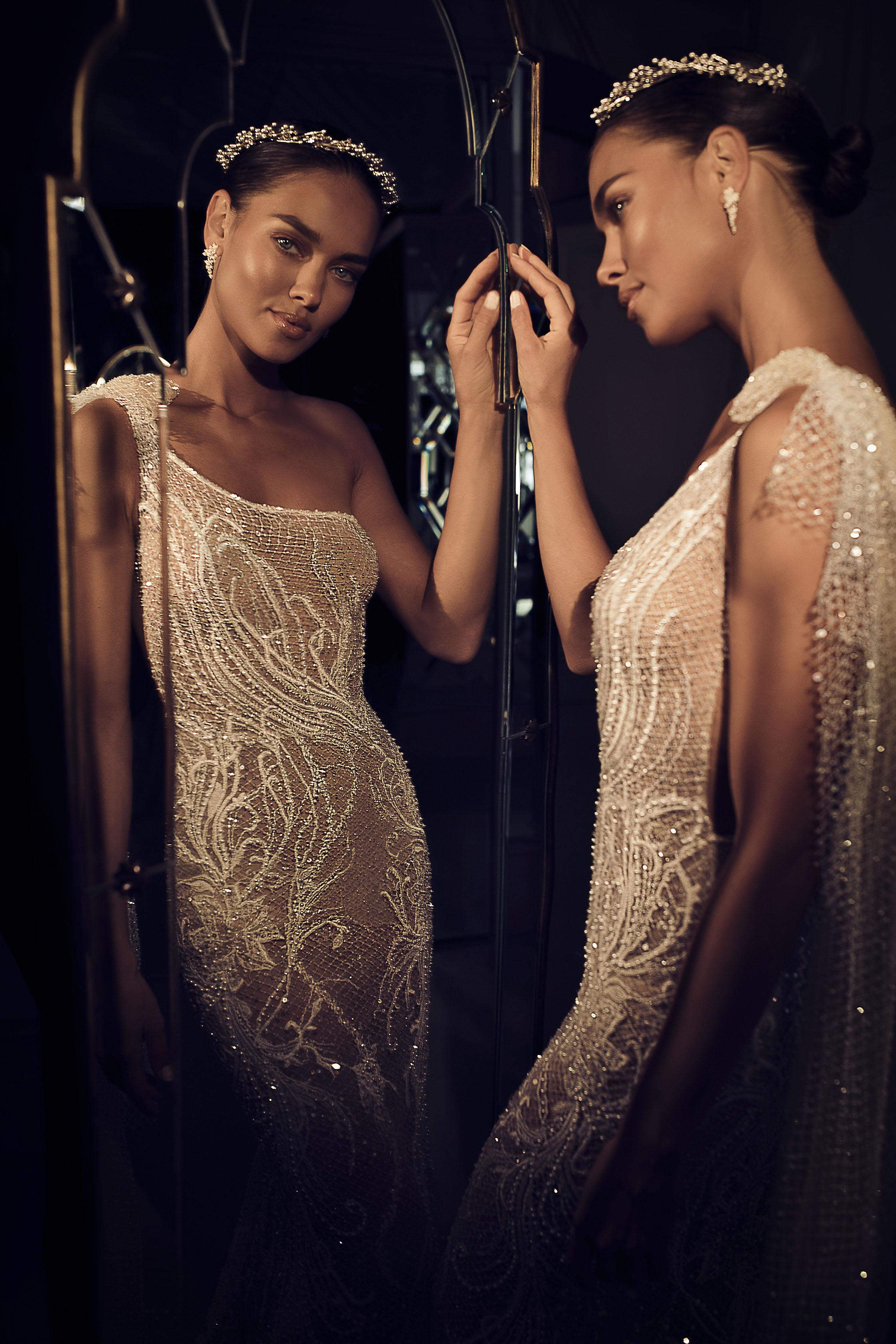 Mira Couture Elihav Sasson e083 Wedding Dress Bridal Gown Chicago Illinois Boutique Front