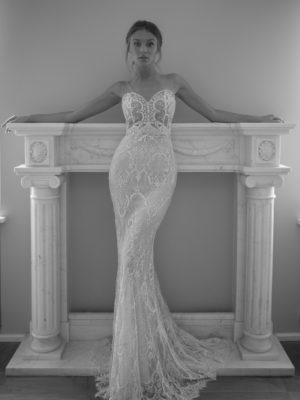 Mira Couture Neta Dover 1103119 Wedding Dress Bridal Gown Chicago Boutique Front