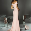 Mira Couture Pronovias Style 02 Evening Formal Wear Chicago Boutique Back