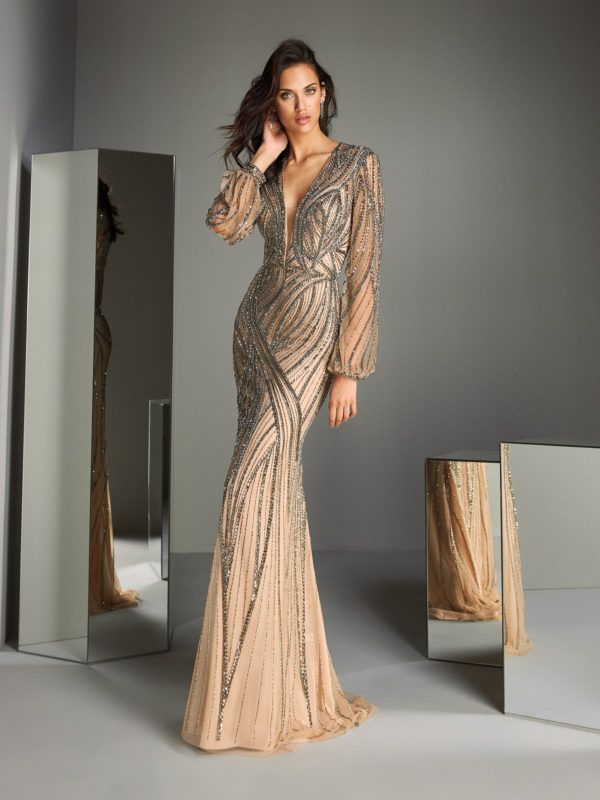 ATOS_STYLE_47_ Pronovias Evening Wear Mother of the Bride Groom Mira Couture Chicago Boutique